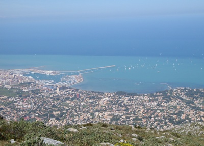 Overlooking Denia from Montgo