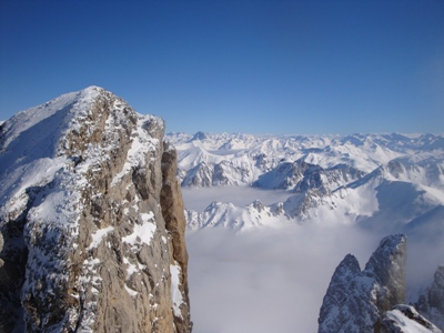 View from the summit of Petrachema (Pic d'Ansabere)