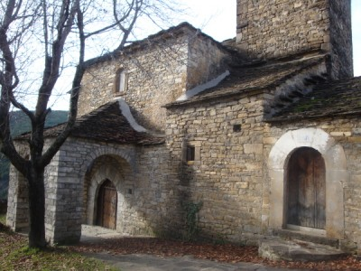 The church in Acumuer