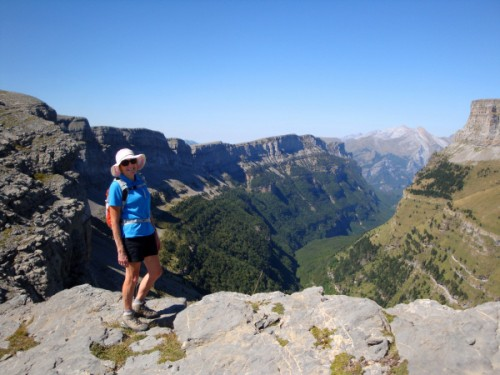 Views into the Ordesa Valley