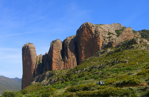 Cliffs of Riglos