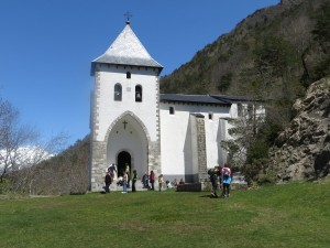 The Church of Santa Elena which you can visit as a 'side trip' on day 1s hike.