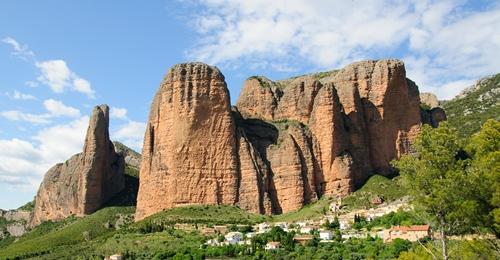 Mallos de Riglos were Rabada and Navarro first climbed together