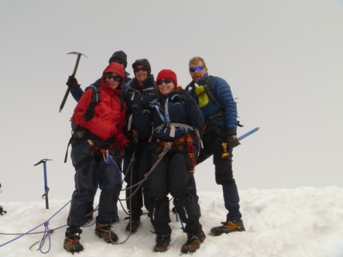 On the summit of Monte Perdido (3355m)