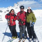 With Anna and Eva at Formigal