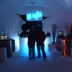 Chilling at the Iglu bar