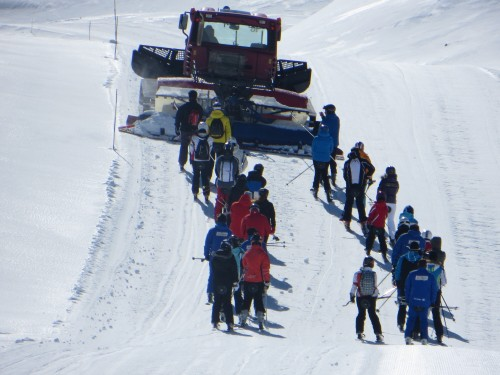 The rat track at Formigal