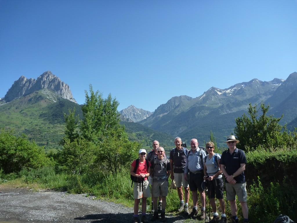 Views up the Valle de Tena