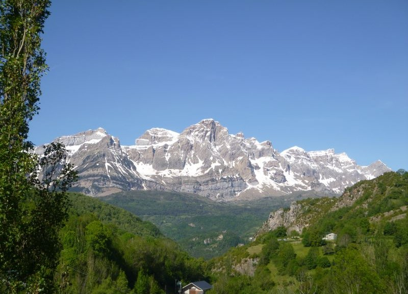 A view of the Sierra de la Partacua on day 2