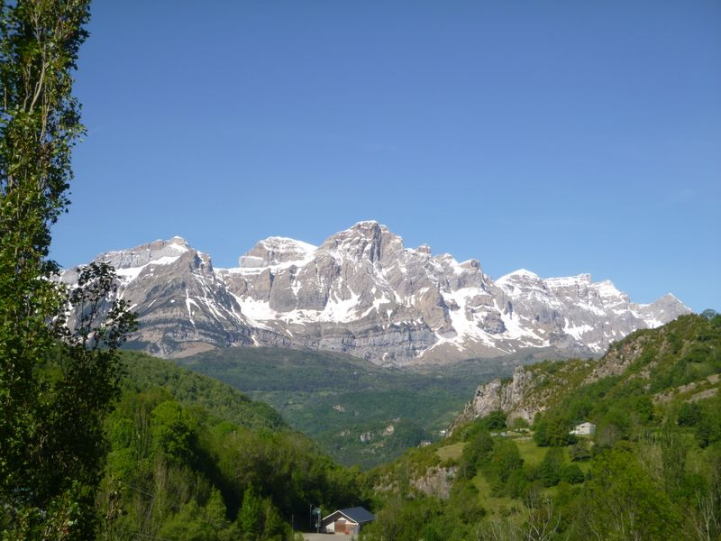 A view of the Sierra de la Partacua on day 2