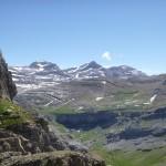 The 'Tres Serols' - Cilindro de Marbores 3325m, Monte Perdido 3355m, Pico de Anisclo 3257m