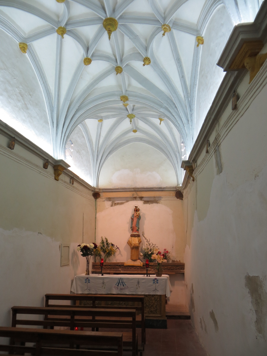 The chapel of our lady of the snow