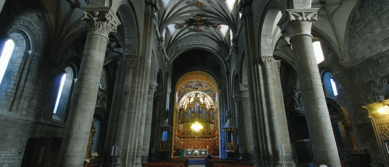 Interior of the Cathedral and the Main Altar