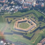 Jaca Citadel view from the sky