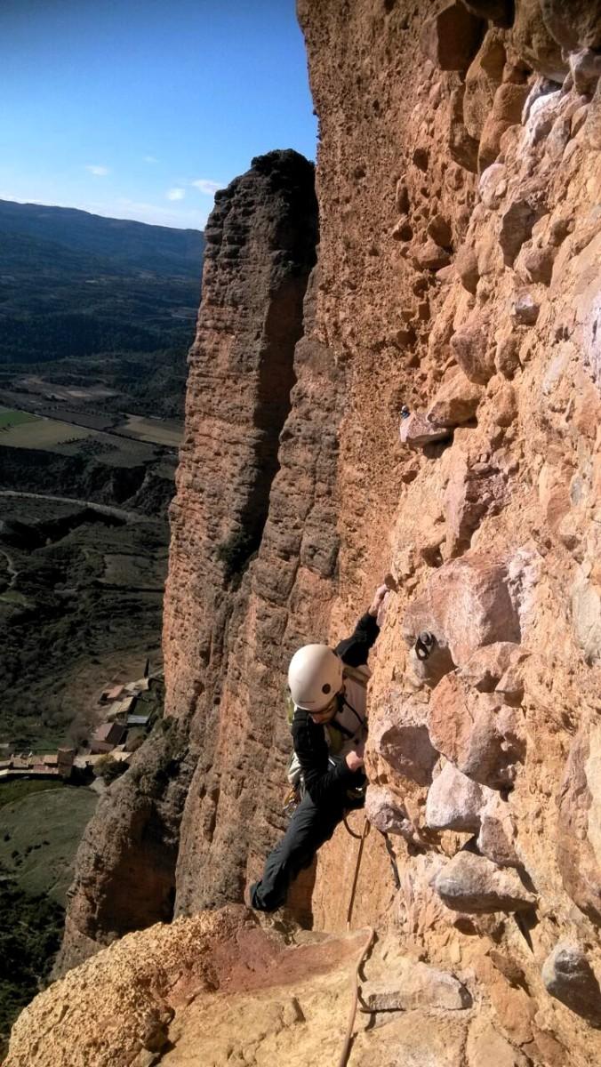 Climbing Mallo La Visera