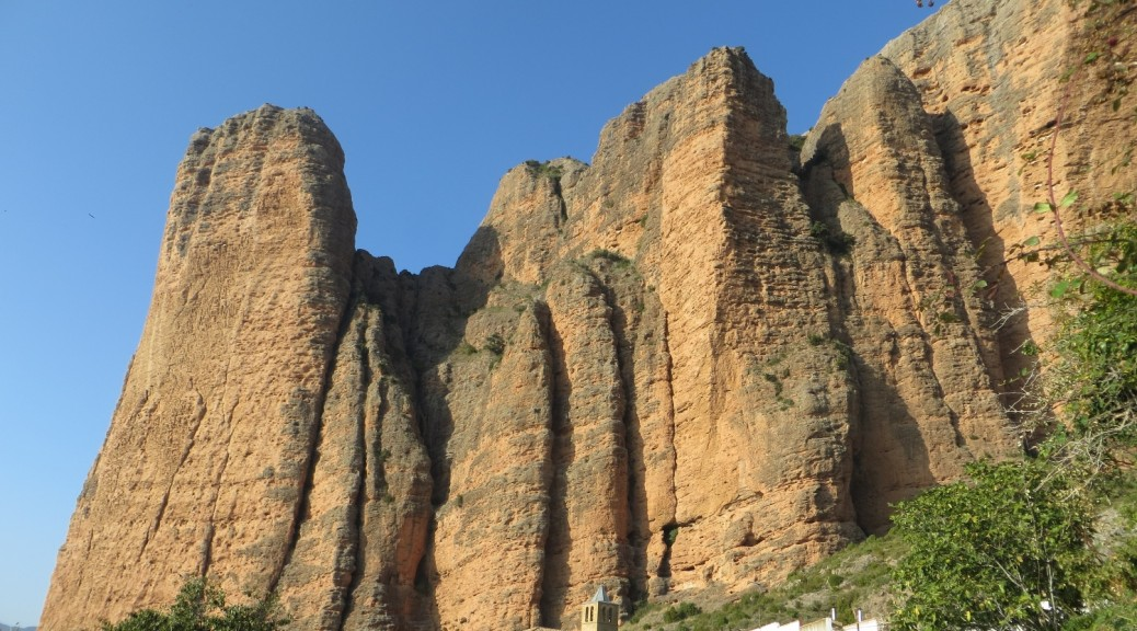 The cliffs of Riglos