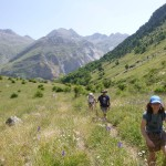Making our way into the Ordiso Valley
