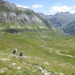 Hiking high in the Ordiso valley near Ordesa