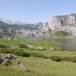 The peacful lakes of Covadonga