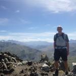 Ronan on the summit of Pic Peyreget 2487m
