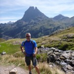 Andy with Pic midi d´Ossau behind