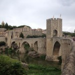 The medieval towns of Besalu and Castellfollit de la Roca