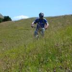 Koldo en el prado bajada de Oturia
