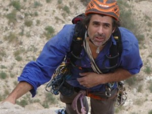 Christian Ravier, one of the most talentous current french trad climber.