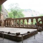 The beautiful wel preserved of San Juan de la Peña Monastery