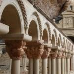 Archs of the Cloister of San Juan de la Peña