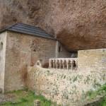 General view of San Juan de la Peña Monastery