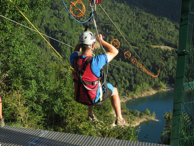 Valle De Tena Tirolina Zip-line 05