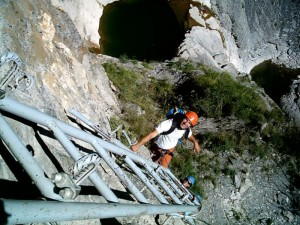 Ferrata-Ladder-Pyrenees