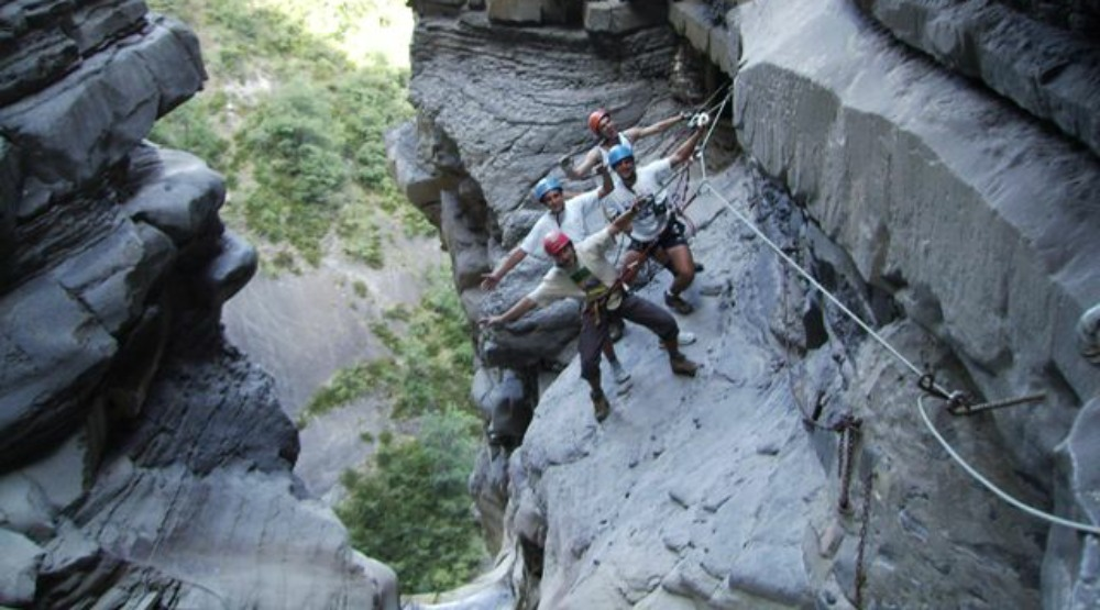 Ferrata-in-Spanish-Pyrenees