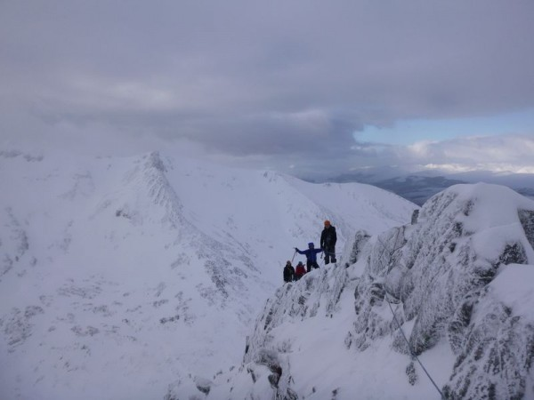 West Coast Mountain guides Winter Mounaineering Courses