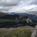 Hiking up to Refugio Armena