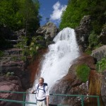 Jim and the Cascada de Lalarri