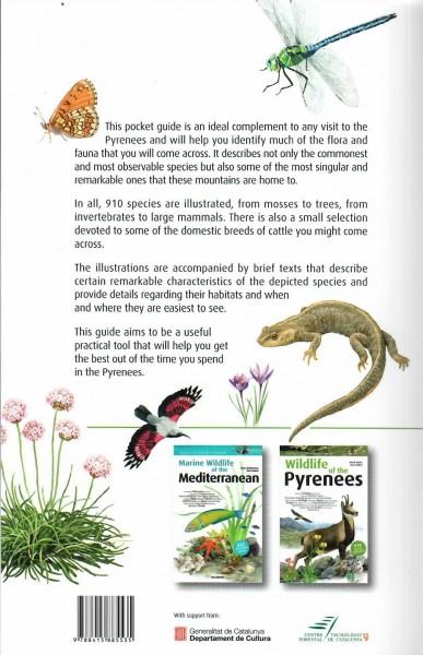 Pyrenees wildlife guidebook backcover
