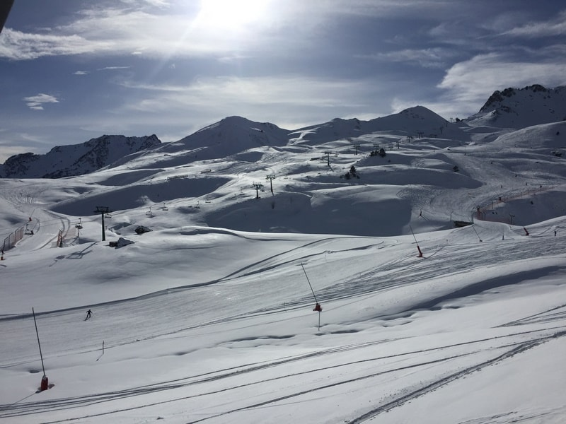 The busy slopes of Formigal :-)