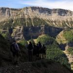 Canarellos ledge path (Ordesa)