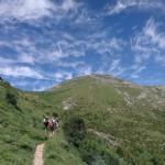 Going up to Pacino peak