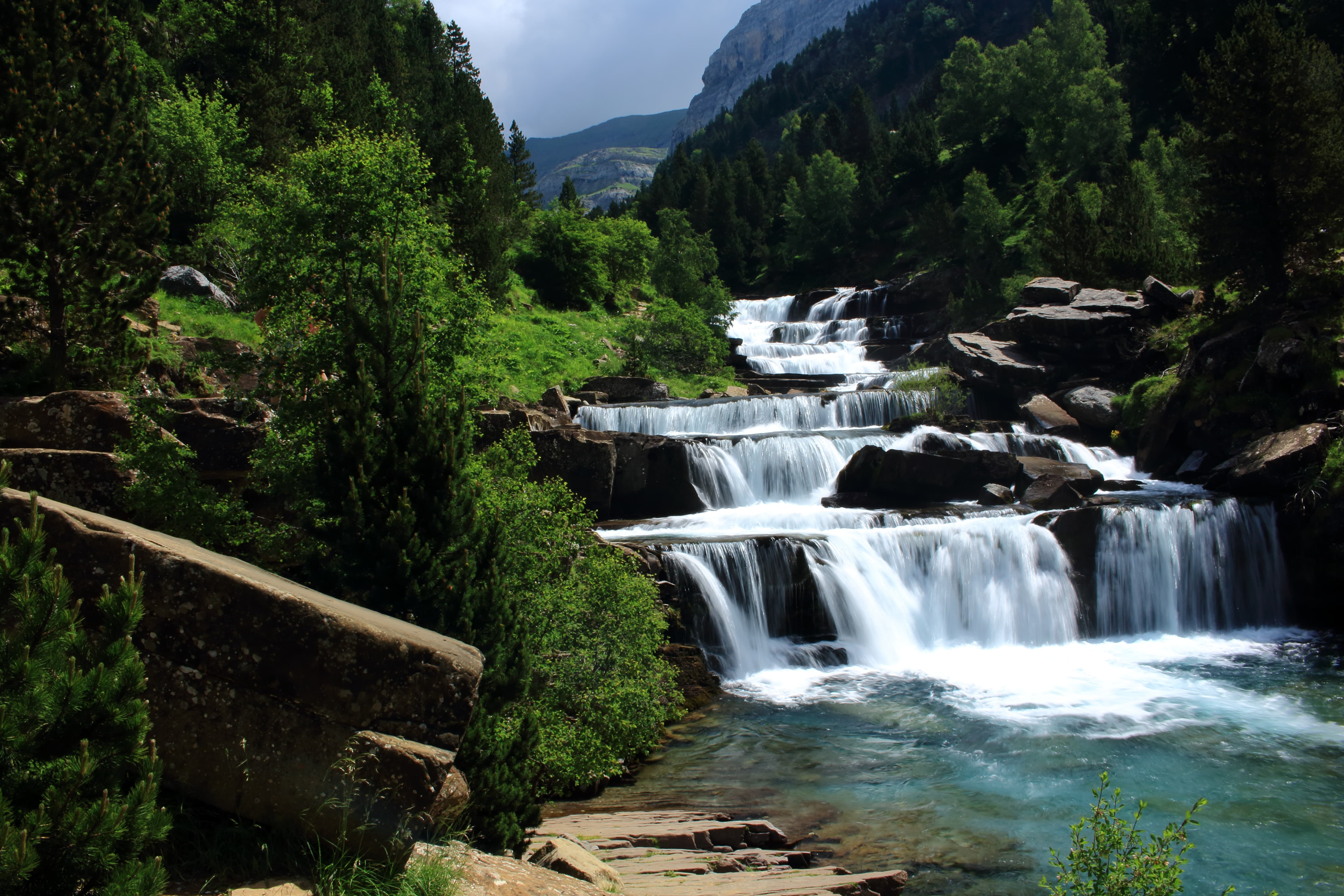 Soaso waterfalls (Ordesa)
