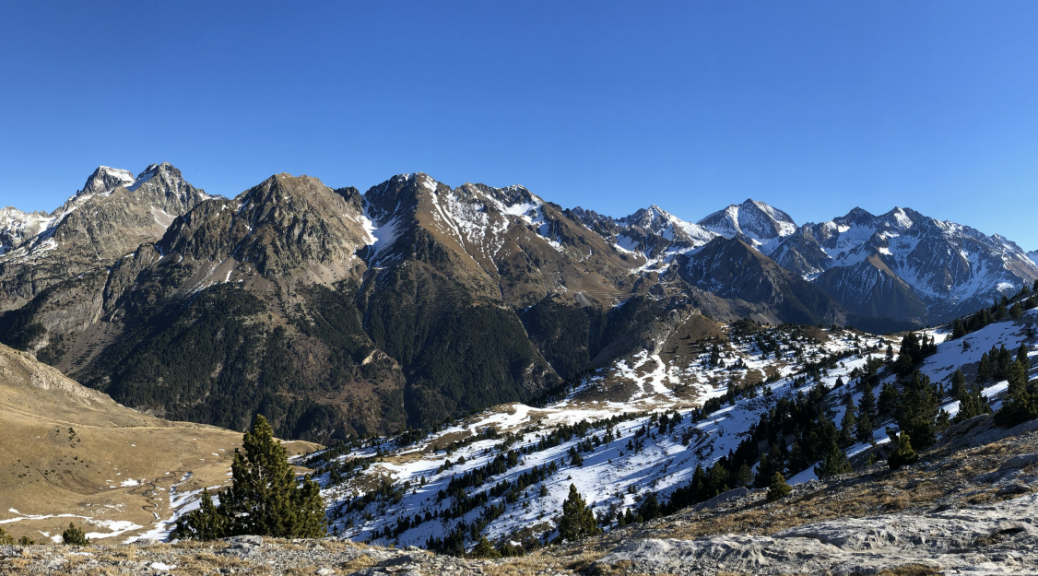 Hiking Portalet Pyrenees