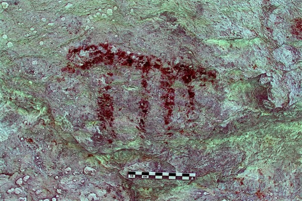 Cave Paintings in Ordesa, Spain