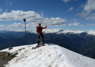 Peña Montañesa summit