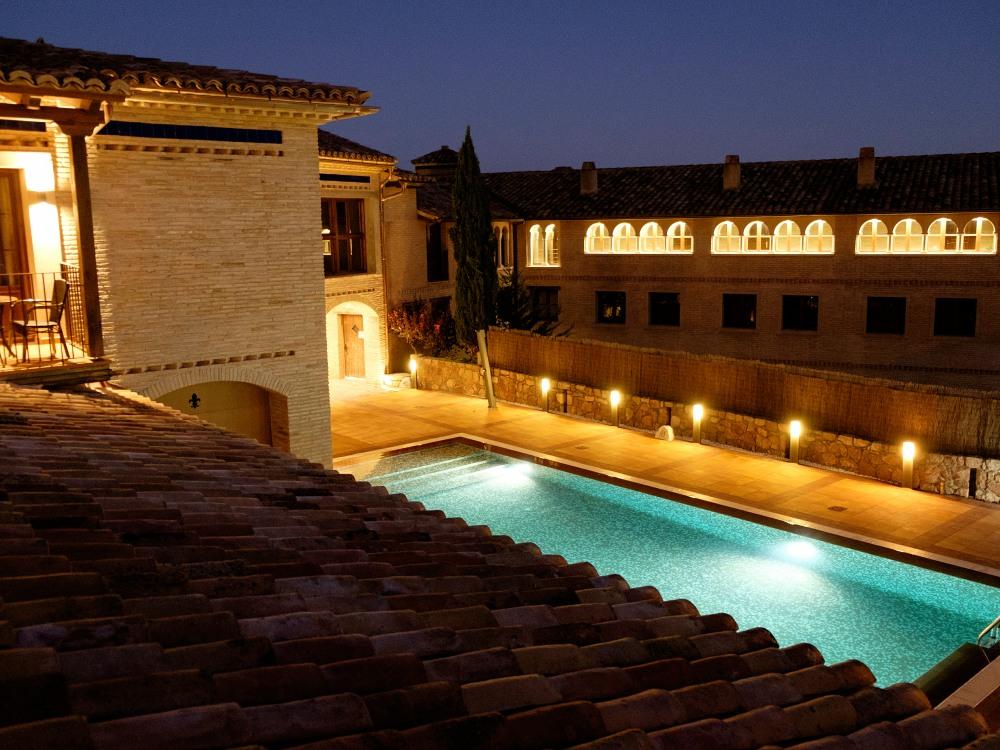 Pool Villa de Alquezar hotel
