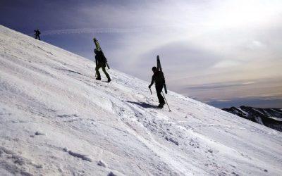 Ski Touring: winter ascent of Bisaurin Peak (2670m)