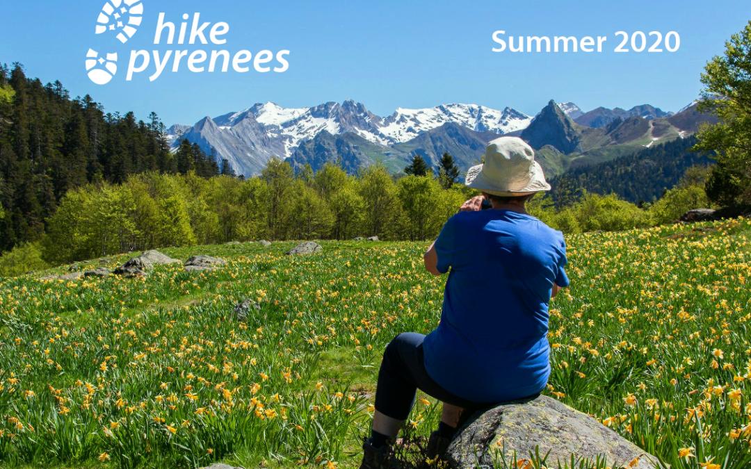 Summer 2020 Pyrenees walking holiday brochure