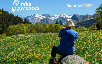 Summer 2020 Pyrenees walking holiday brochure