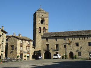 Romanesque church in Ainsa